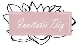 Invitatii DIY